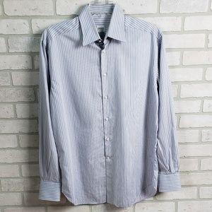 Armani Collezioni Button-down  Dress Shirt Lg